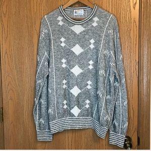 VTG LONDON FOG••80s chunky oversized sweater